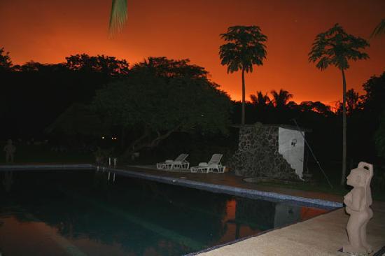 Hotel Paraiso del Cocodrilo: Sonnenuntergang