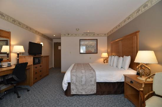 Stage Coach Inn: Deluxe King Room