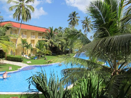 Dreams Punta Cana Resort & Spa: View from our room!