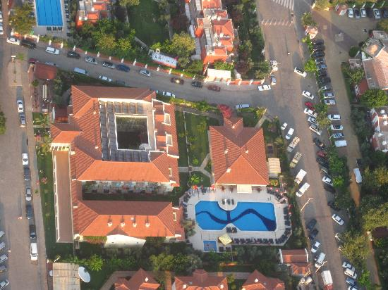 Mavruka Hotel: Mavruka from the sky!
