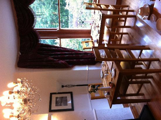 Dolweunydd Bed & Breakfast: Guest Breakfast Room