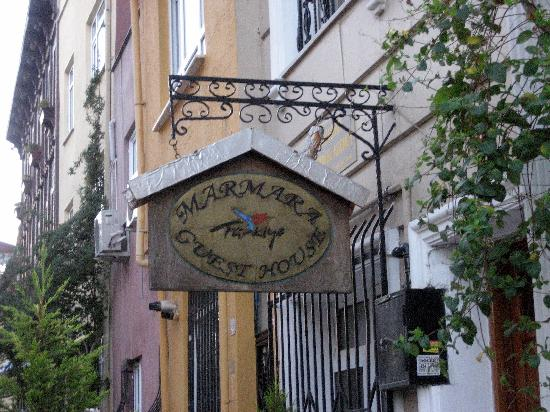 The Marmara Guesthouse entrance