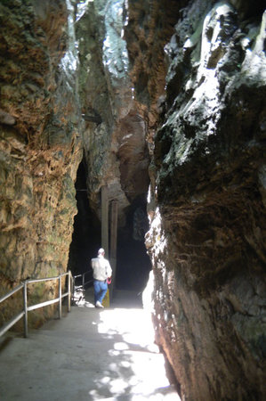 Sterkfontein Cave: In the cave