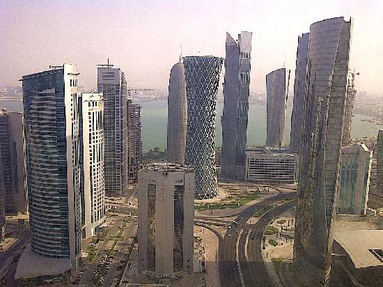Marriott Marquis City Center Doha Hotel: view of Doha from the hotel!