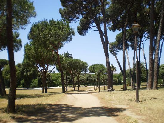 B&B La Duchessa A Roma: Villa Pamphili ( in 15 Minuten zu Fuß zu erreichen)