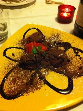 Osteria Antico Giardinetto: mousse al cioccolato