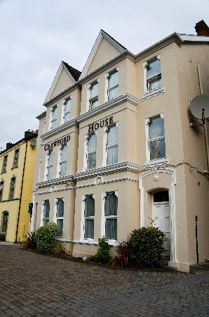 Killarney Guest House : The building we stayed in