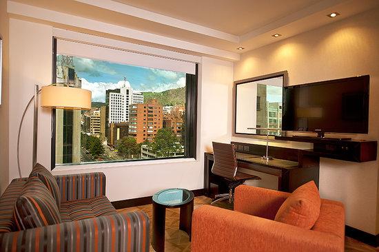 Hilton Bogota: Suite