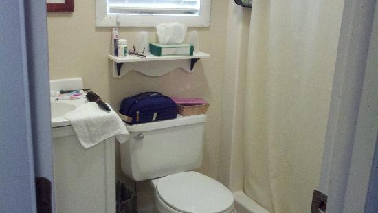 East Shore Lodging: Bathroom