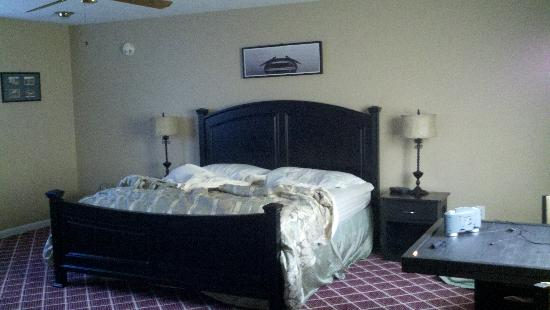 East Shore Lodging: King bed