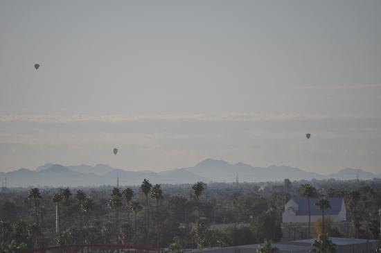 Phoenix Marriott Mesa: Balloon launch