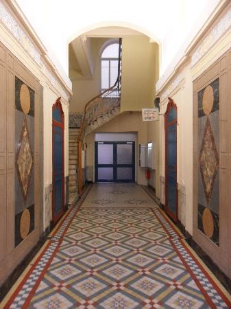 แฟรงก์เฟิร์ต โฮสเทล: Der Eingang