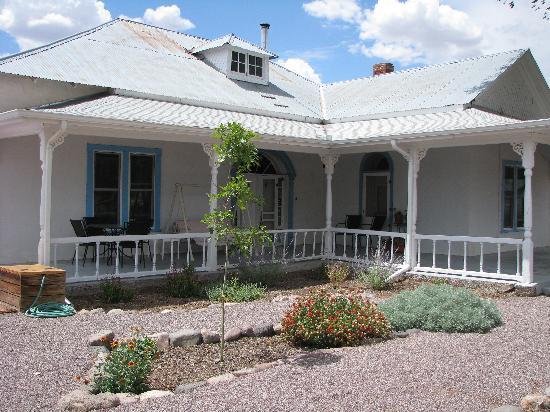 Casa blanca bed breakfast desde san antonio - Fotos de la casa blanca por fuera ...