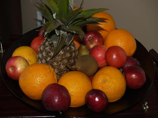 In Elegance Bed and Breakfast: Fruits