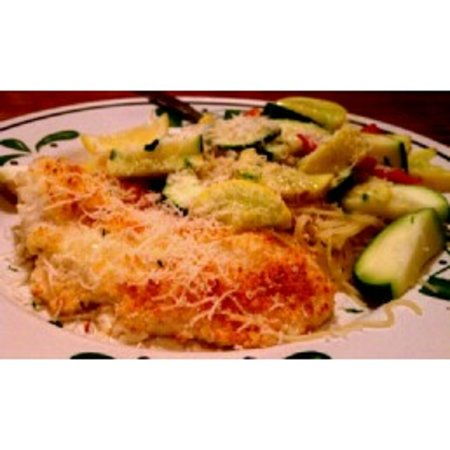 Olive Garden: Parmesan Crusted Talapia