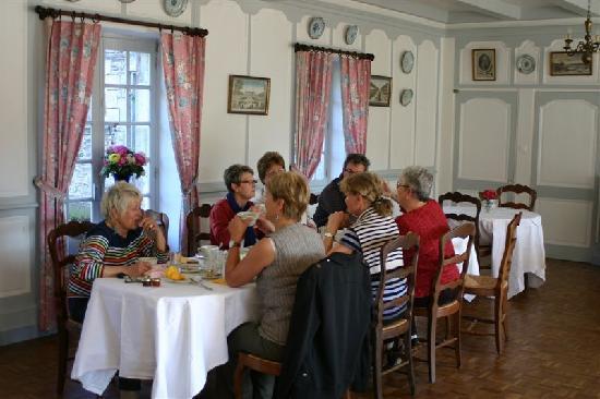 Manoir du Stang: salle de petits déjeuners