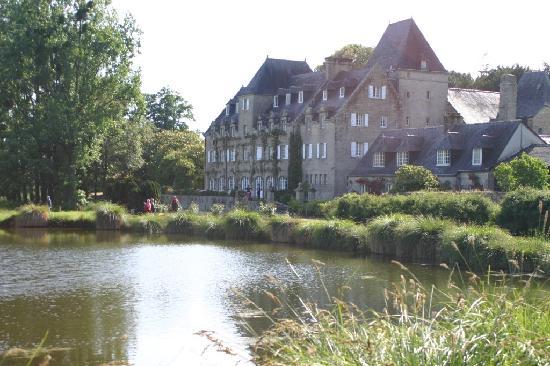 Manoir du Stang: vu de l'étang