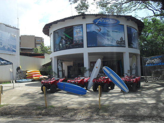 Arenas Adventures: Picture of Our Location at Playa Tamarindo
