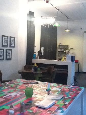Ima Loft Apartment: lieu acceuil + café/ brunch