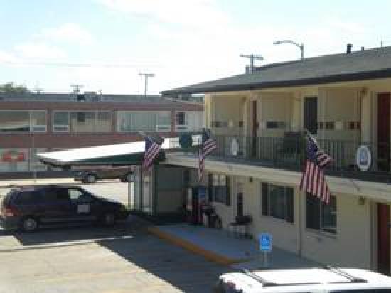 Western Inn Motel: Front enterance