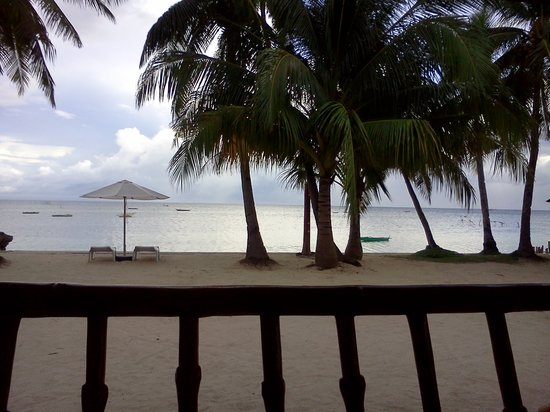 Maia's Beach Resort: view from the cottage