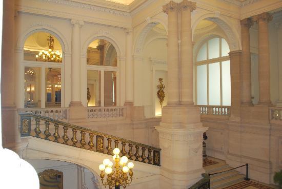 Les photos sont interdites l 39 int rieur alors voici une petite vue du palais royal de bruxelle - Salon de the palais royal ...