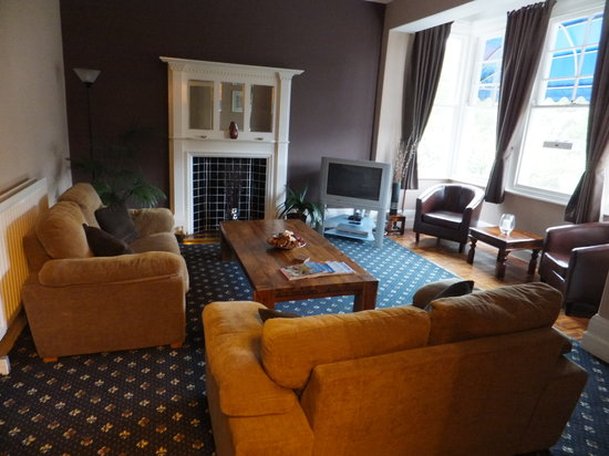 Kingsholm Hotel: Guest lounge at Kingsholm