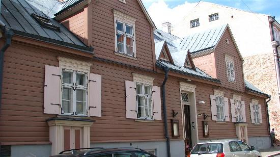 Tampere Maja: coté rue