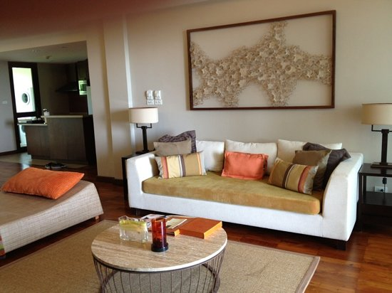 ShaSa Resort & Residences, Koh Samui: living room