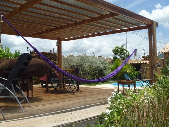 Posada Casa Mejillon: Vista del Jardín