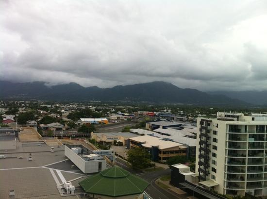 Best Western Plus Cairns Central Apartments: balcony view