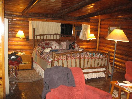 Orchard Canyon on Oak Creek: our cabin