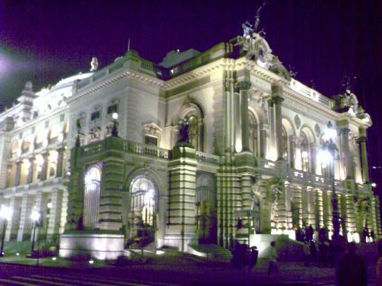 Theatro Municipal De São Paulo : Noch eine Außenansicht
