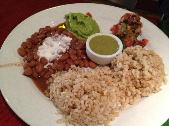 Herbivore -Divisadero St. : Rice and Beans