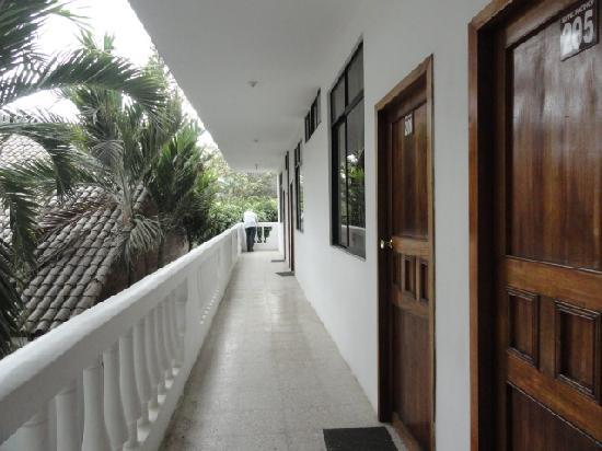 Hotel Pacifico: planta alta