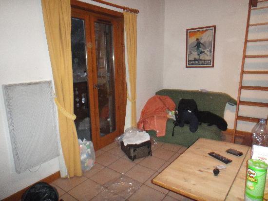 Pierre & Vacances Residence Les Hauts de Chavants: Sitting area.