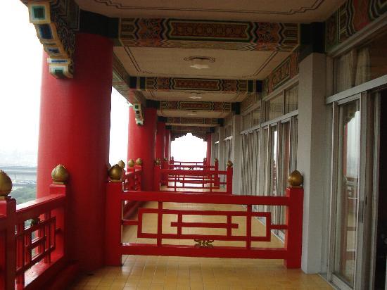 Grand Hotel Taipei: Balcony