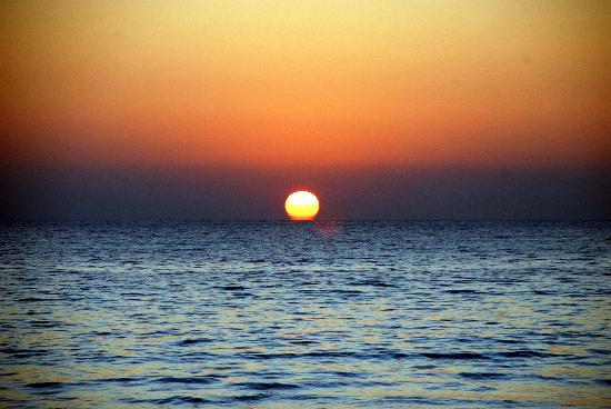 Amazing Ngapali Resort : coucher de soleil
