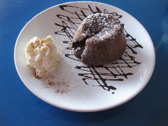 Alta Marea: tortino con cuore di cioccolato fuso