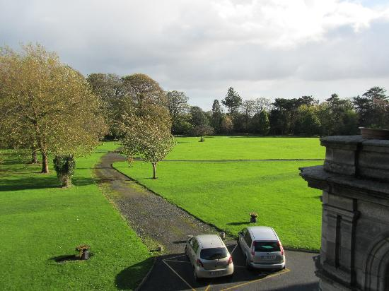 Purcell House, All Hallows College, Conference Centre: View out of my room
