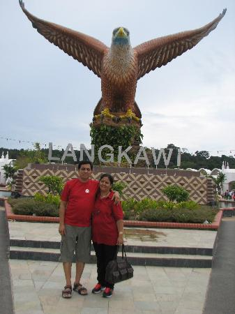 Malesia: at Eagle Square, Langkawi