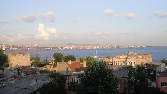 Hotel Sebnem: view fro the terrace