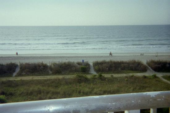 Photo of the beach from balcony bar harbor motor inn for Bar harbor motor inn