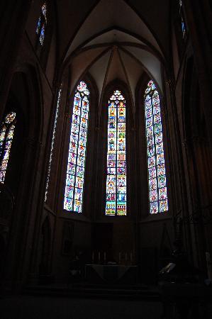 St. Katharinen: Glasfenster