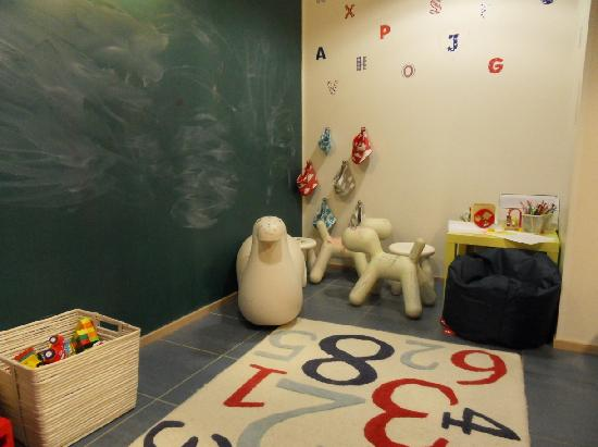 Playing room for children in Cumulus Hakaniemi