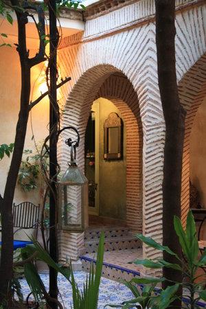 Riad Al Nour: entrée du riad