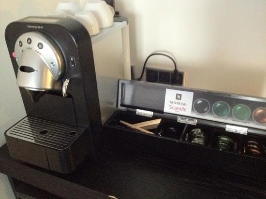 Nespresso Cofee Machine In Bedroom Picture Of Scandic Front