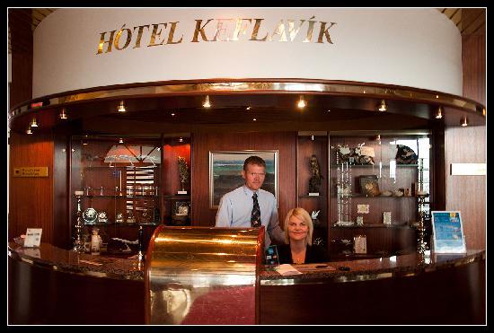 Hotel Keflavik: Hotel Reception