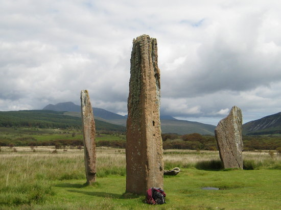 Machrie Moor Stone Circles Photo