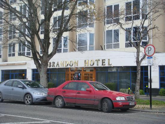 ‪‪Brandon Hotel‬: Front of hotel‬